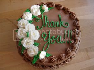 thank you cake 